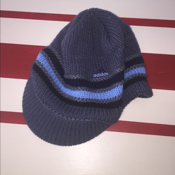 adidas Other - 4  20 ⭐ Adidas Knit Beanie with Visor Brim Hat 2d35c967ecb